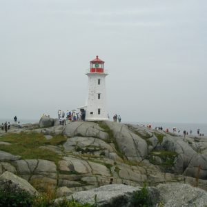 Canada Peggy's Cove Lighthouse