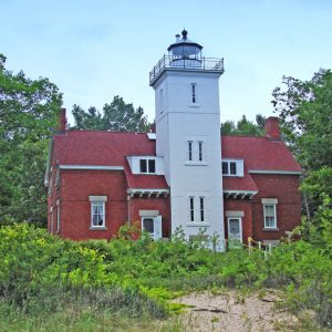 MI Forty mile point lighthouse