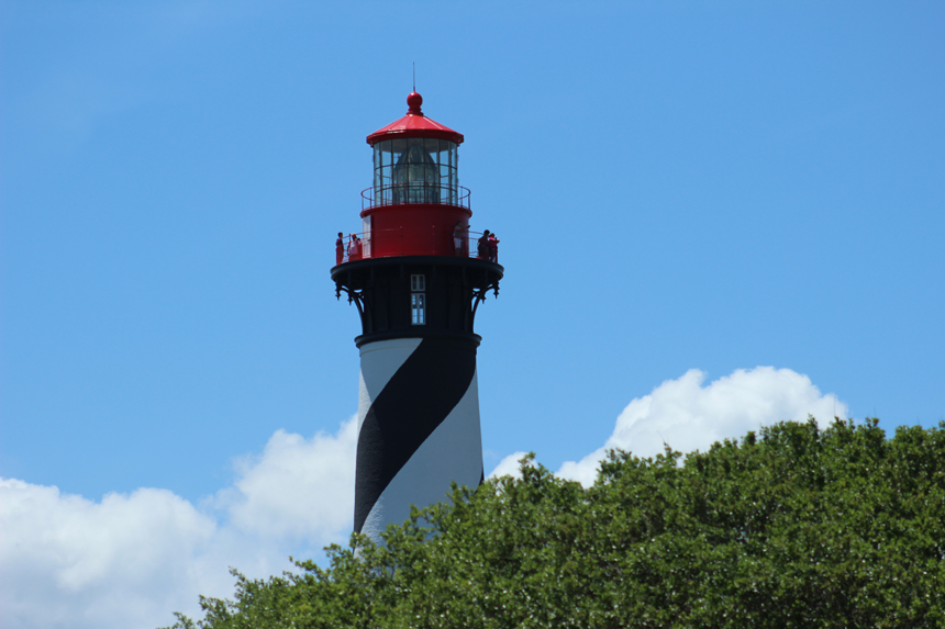 Top of St. Augustine Light