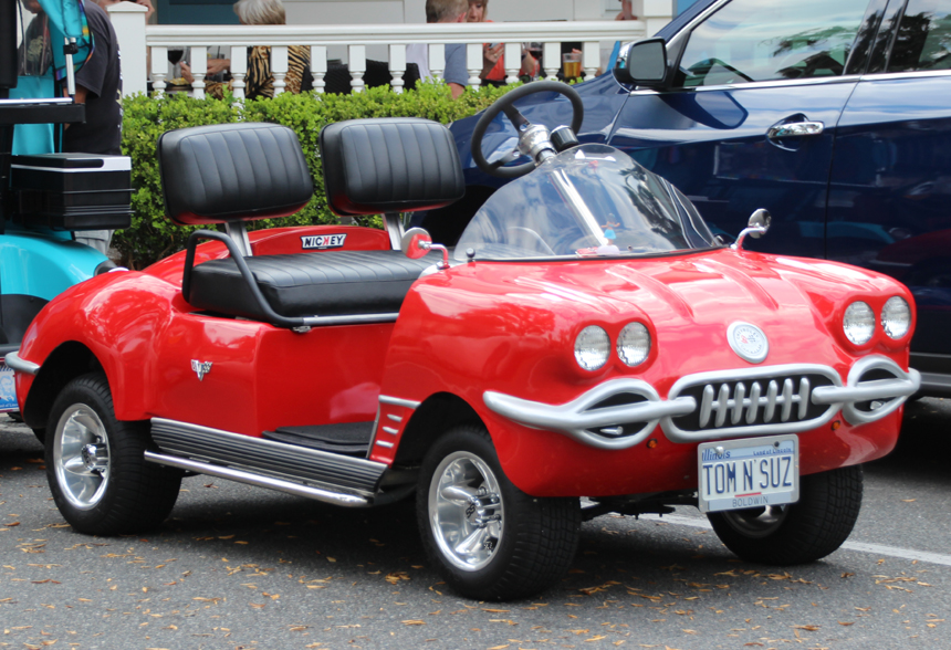 Corvette Golf Cart